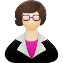 Female, Teacher Icon