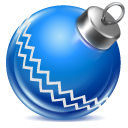 Ball, Blue Icon