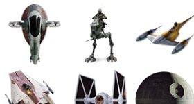 Star Wars Vehicles Icons
