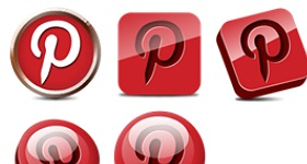 Pinterest Icons
