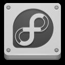 Fedora, Here, Start Icon