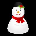 Cap, Snowman Icon