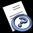 File, Help, Icon Icon