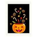 Candy, Pumpkin Icon