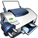 Icon, Network, Printer Icon