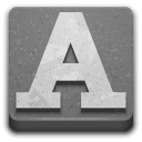 Applications, Fonts Icon