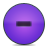 Button, Minus, Violet Icon