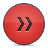 Button, Fastforward, Red Icon