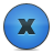 Blue, Button, Close, Delete Icon