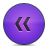 Button, Rewind, Violet Icon