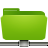 Folder, Green, Remote Icon