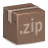 Box, Inventory, Zip Icon