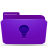 Folder, Ideas, Violet Icon