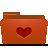 Favorites, Folder, Red Icon