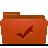Folder, Red, Todos Icon