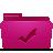 Folder, Pink, Todos Icon