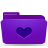 Favorites, Folder, Violet Icon