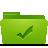 Folder, Green, Todos Icon