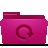 Backup, Folder, Pink Icon