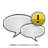 Alert, Comments Icon
