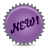 New, Splash, Violet Icon