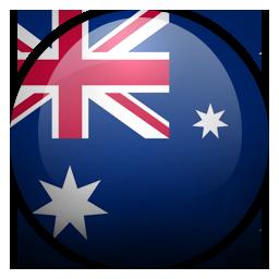 Au, Australia Icon