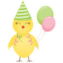 Chicken, Party Icon