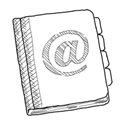 Contacts, Copy Icon