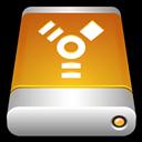Device, Drive, External, Firewire Icon