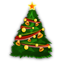 Christmas, Icon, Instatuts.Com, Tree Icon
