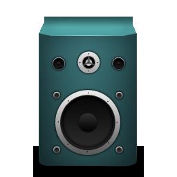 Speaker, Turquoise Icon