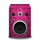 Heart, Speaker Icon
