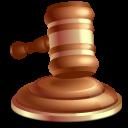 Gavel, Law Icon