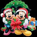 Christmas, Icon, Mickey, Mouse Icon