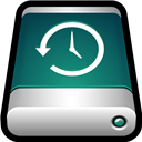 Device, Drive, External, Machine, Time Icon