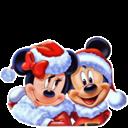 , Christmas, Icon, Mickey, Mouse Icon