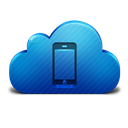 Cloud, Device, Icon, Mobile Icon