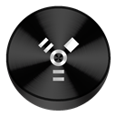 Black, Firewire Icon