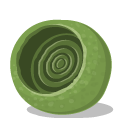 Bugs, Green, Nest, Textedit Icon