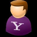 User, Yahoo Icon