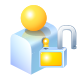 Unlock, User Icon