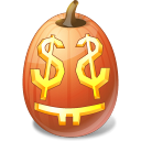 Easymoney, Halloween, Jack, Lantern, Pumpkin Icon