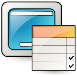 Config, Desktop Icon