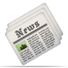 Newsletter, Newspaper Icon