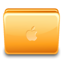 Apple, Close, Folder Icon