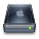 Apple, Drive, Harddisk Icon