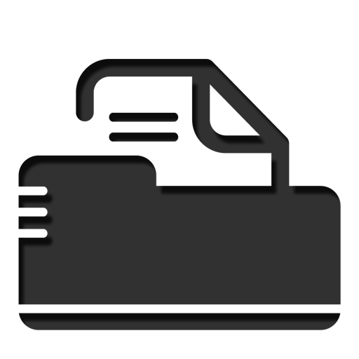 Folder, Option Icon