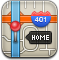 Directions, Gps, Home, Map Icon
