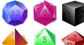 Dices Icons
