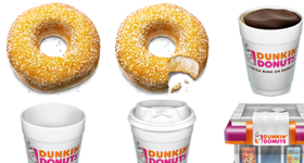 Dunkin Donuts Icons